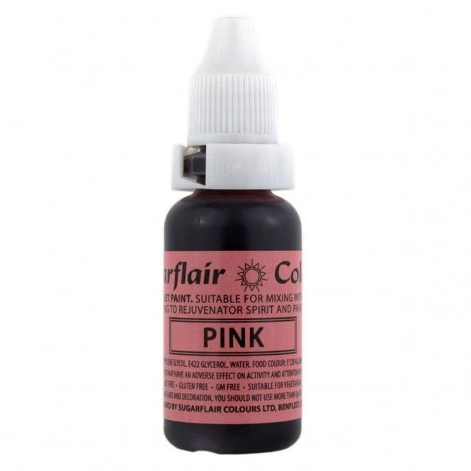 Sugarflair Hollyberry Pink - Sugartint Concentrated Droplet Colour 14ml