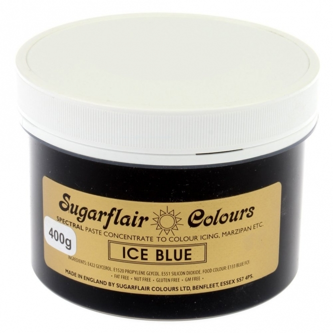 Sugarflair Ice Blue - Spectral Paste Concentrate Colouring 400g