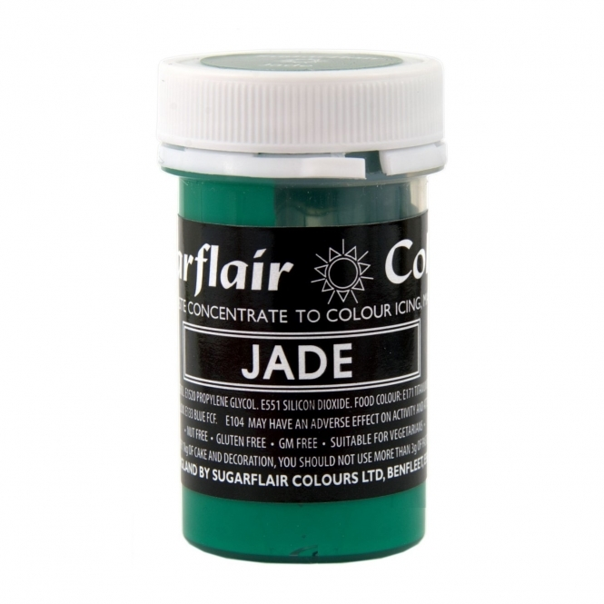 Sugarflair Jade Green - Pastel Paste Concentrate Colouring 25g