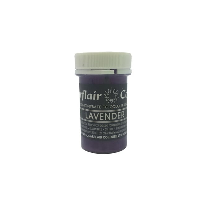 Sugarflair Lavender - Pastel Paste Concentrate Colouring 25g