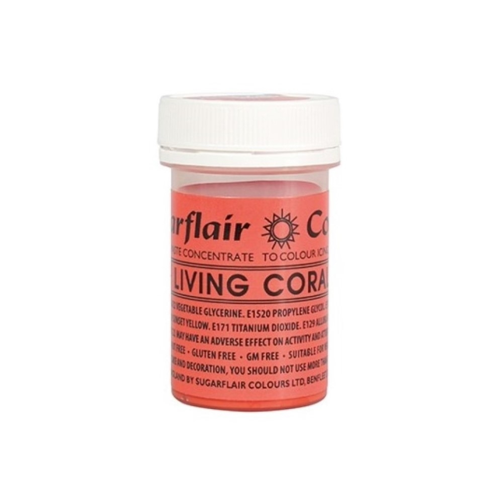 Living Coral Spectral Paste Concentrate Colouring 25g
