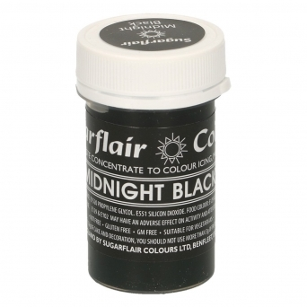Midnight Black - Pastel Paste Concentrate Colouring 25g