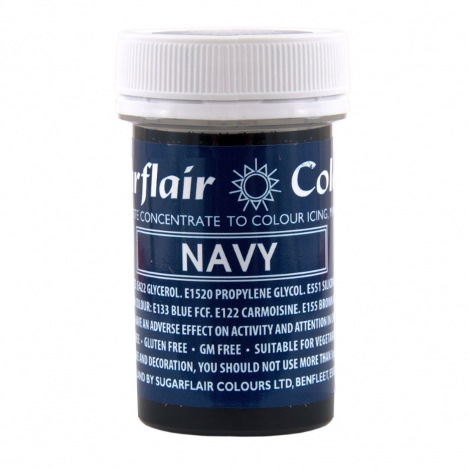 Sugarflair Navy - Spectral Paste Concentrate Colouring 25g