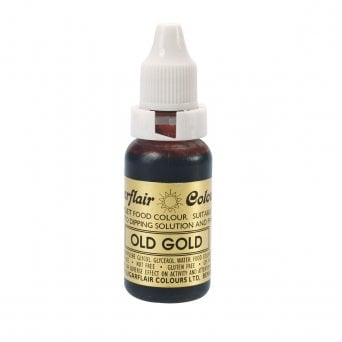Old Gold - Sugartint Concentrated Droplet Colour 14ml