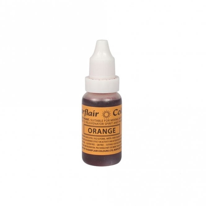 Sugarflair Orange - Sugartint Concentrated Droplet Colour 14ml