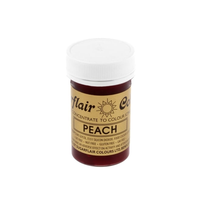 Sugarflair Peach Paste - Spectral Paste Concentrate Colouring 25g