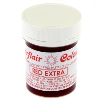 Red Extra - Max Concentrated Paste Colouring 42g