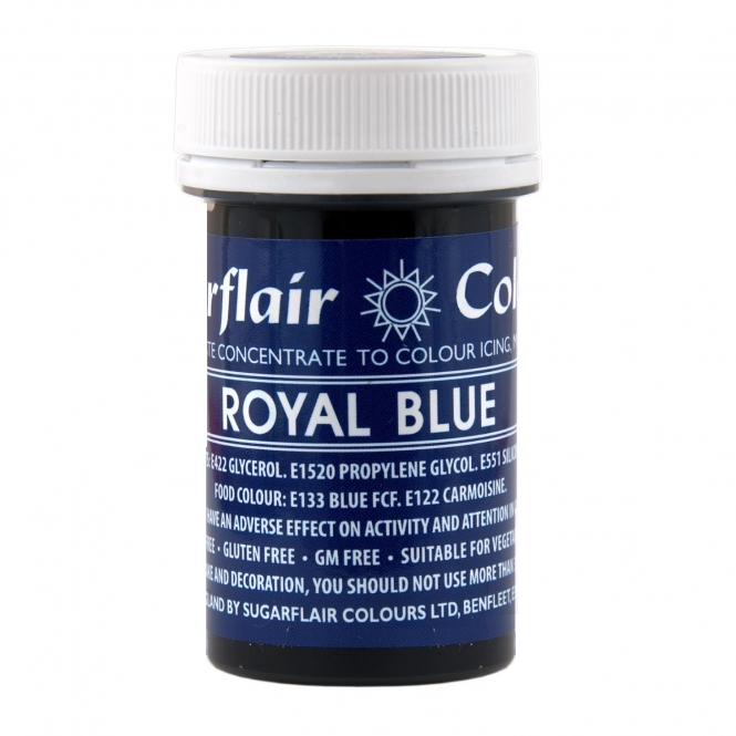 Sugarflair Royal Blue - Spectral Paste Concentrate Colouring 25g