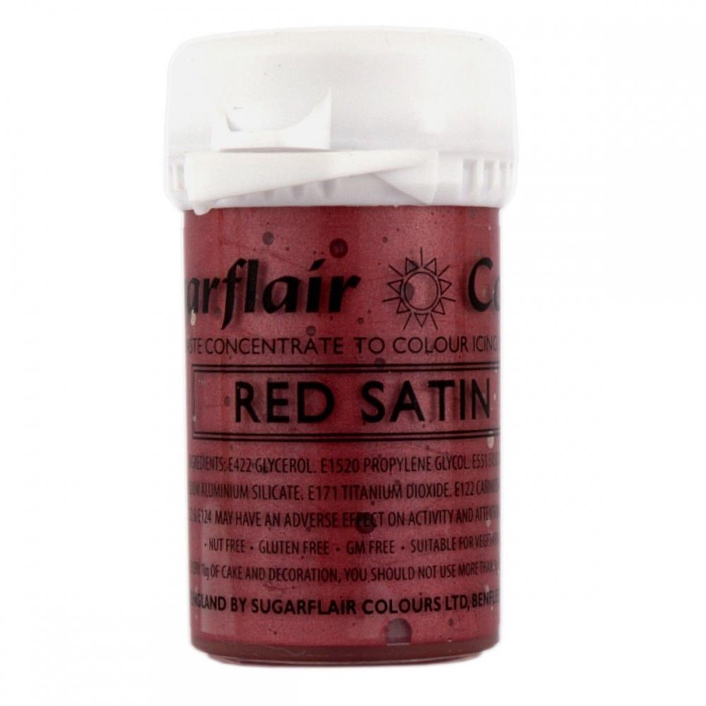 Satin Paste Food Colour 25g