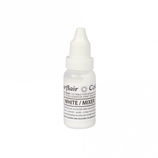 Sugarflair White / Mixer - Sugartint Concentrated Droplet Colour 14ml