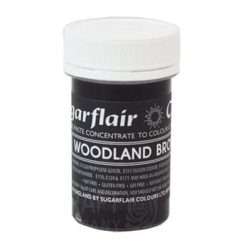 Woodland Brown - Pastel Paste Concentrate Colouring 25g