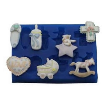 Baby Set 2 First Impressions Silicone Mould