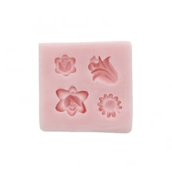 Tiny Flowers Mould By Sunflower Sugar Art
