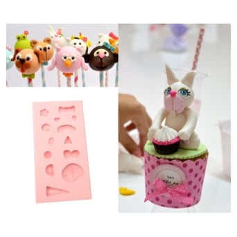 Cute Animals Silicone Mould - Tal Tsafrir Cakes