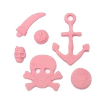 Pirates Silicone Mould - Tal Tsafrir Cakes