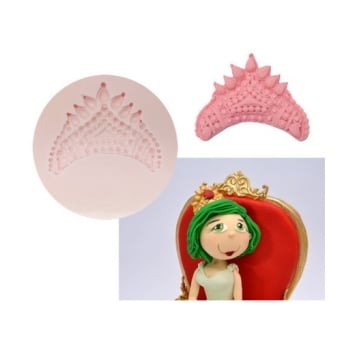 Royal Crown Silicone Mould - Tal Tsafrir Cakes