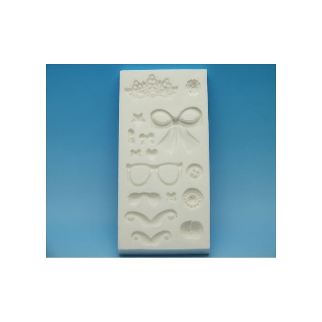Tal Tsafrir  Surprise Tray Silicone Mould Movember - Tal Tsafrir Cakes