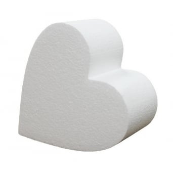 12 Inch Heart 4 Inch Deep Professional Cake Dummy