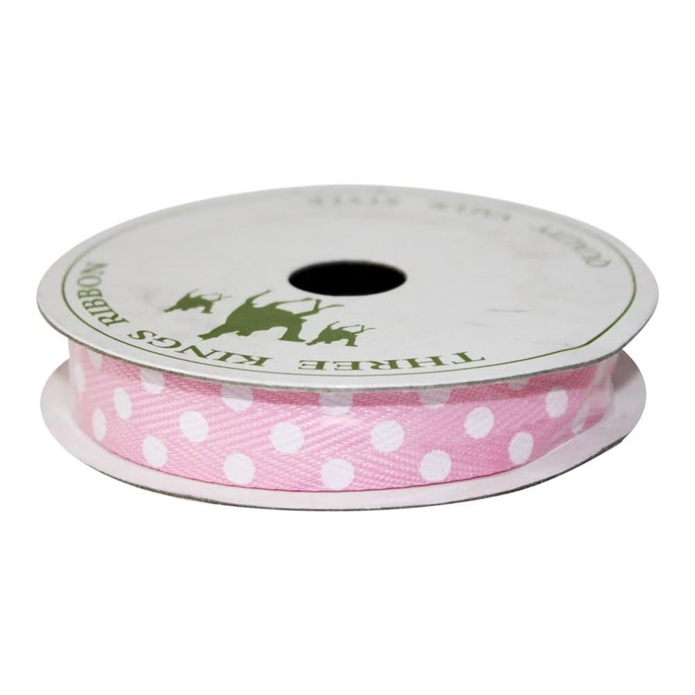 15mm Spotted Twill Ribbon | Cake Decorating Ribbons
