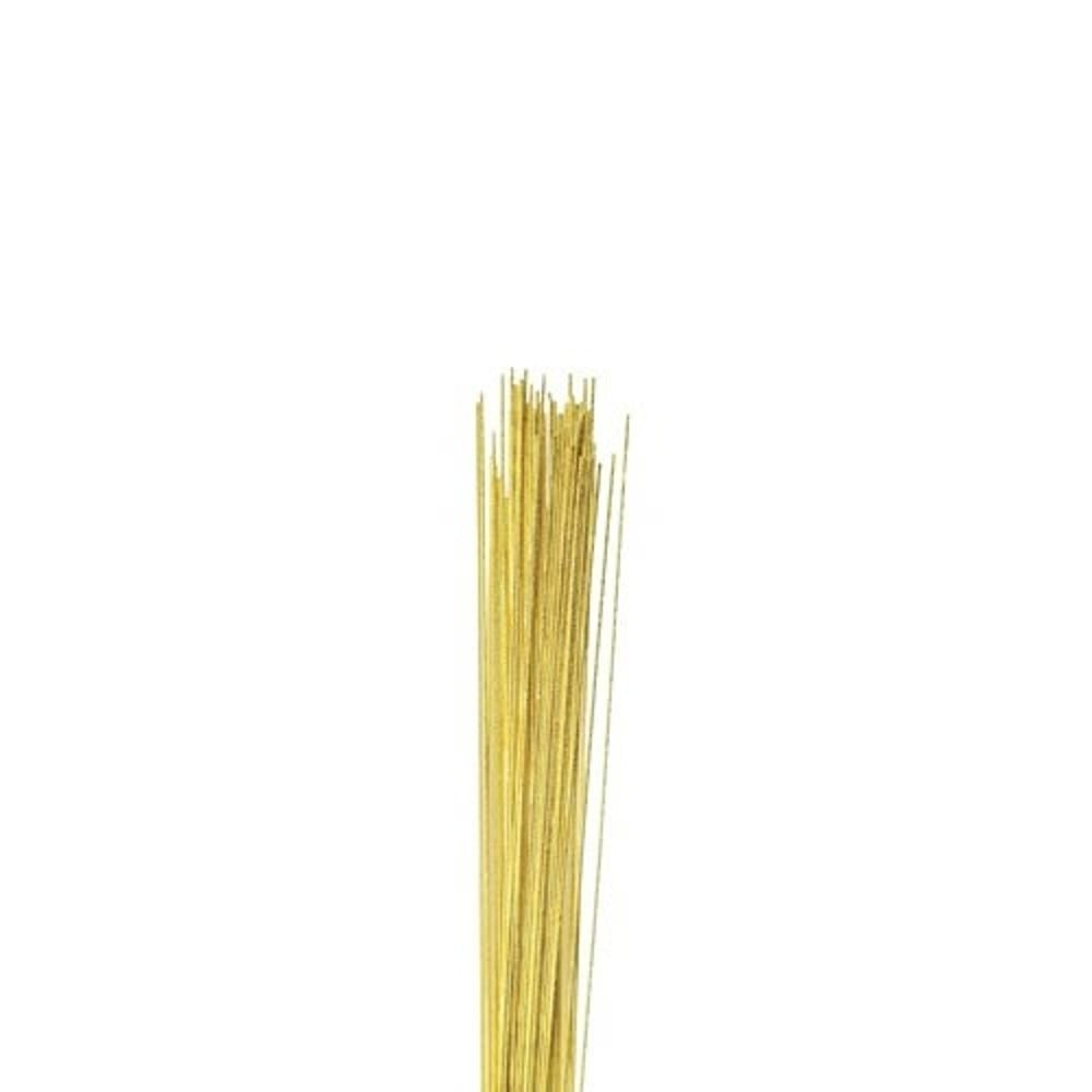 The Cake Decorating Co. 22 Gauge Gold Florist Wire x 50 - Tools ...