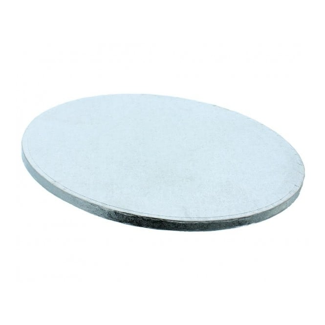 The Cake Decorating Co. 22 Inch Silver Round Drum Cake Board