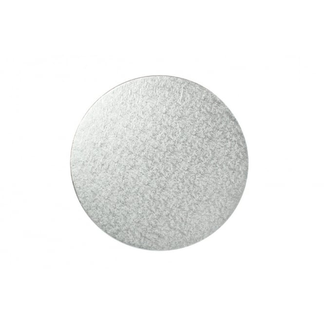 The Cake Decorating Co. 4 Inch Silver Round 4mm Cake Board