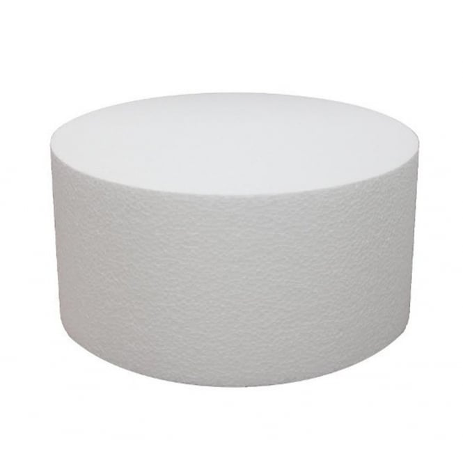 The Cake Decorating Co. 6 Inch Round 6 Inch Deep Professional Cake Dummy
