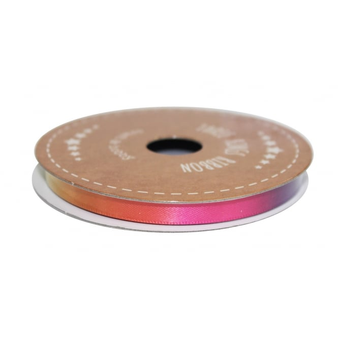 The Cake Decorating Co. 6mm Rainbow Double Faced Satin Ribbon - 3 Metres