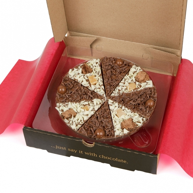 """7"""" Double Delight Chocolate Pizza   Chocolate Pizza Cake ..."""