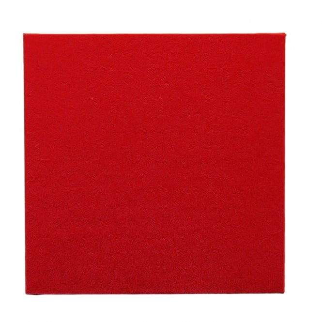 The Cake Decorating Co. 8 Inch Red Square Drum Cake Board