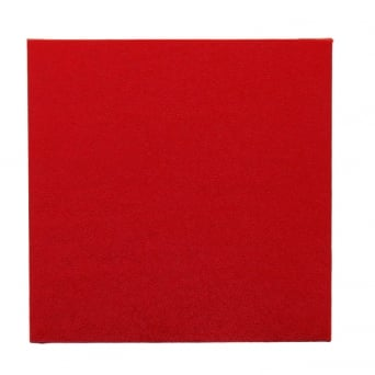 8 Inch Red Square Drum Cake Board
