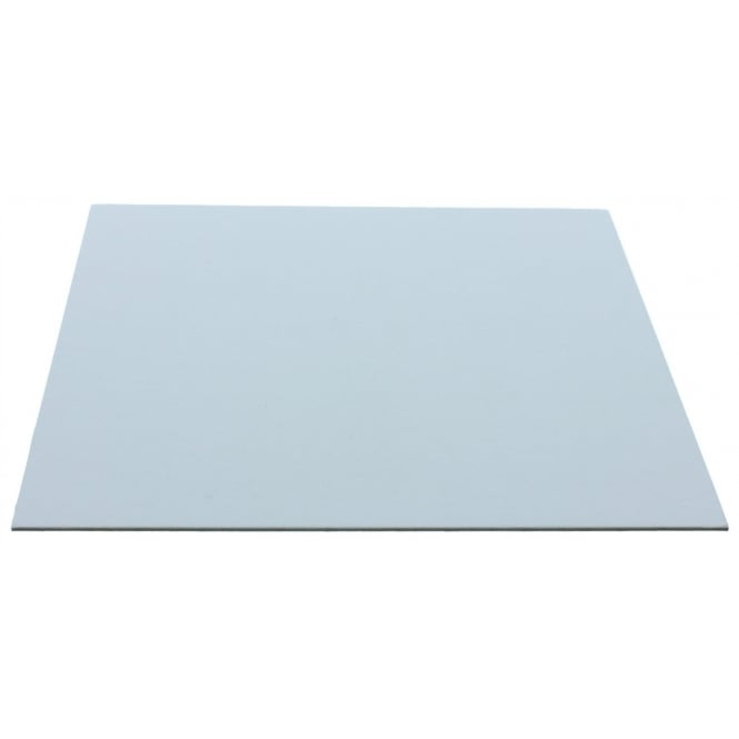The Cake Decorating Co. 8 Inch White Square Poly Coated Cake Card