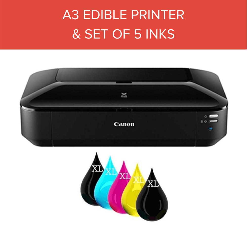 graphic regarding Printable Edible Paper named A3 Edible Imaging Printer Newbie Package