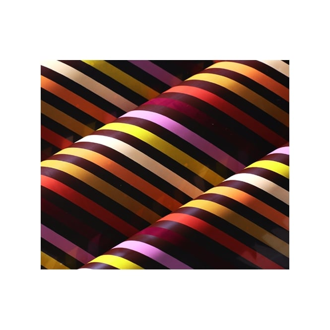 The Cake Decorating Co. Autumn Stripe Print Chocolate Transfer Sheet