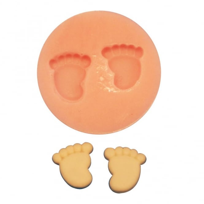 The Cake Decorating Co. Baby Feet Silicone Mould