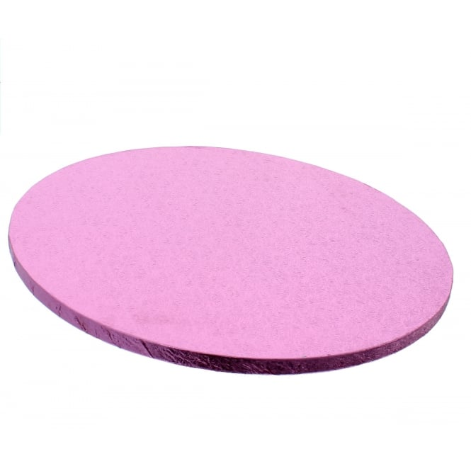 The Cake Decorating Co. Baby Pink Round Drum Cake Board - Choose A Size