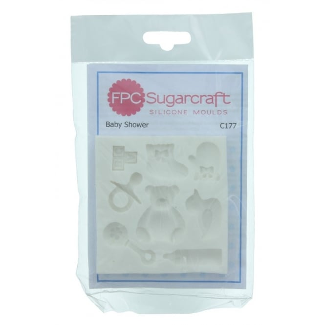 The Cake Decorating Co. Baby Shower Cake Decorating Mould By FPC Sugarcraft