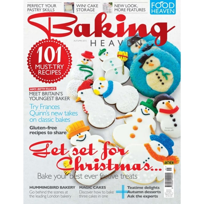 The Cake Decorating Co. Baking Heaven - Autumn 2015 Issue