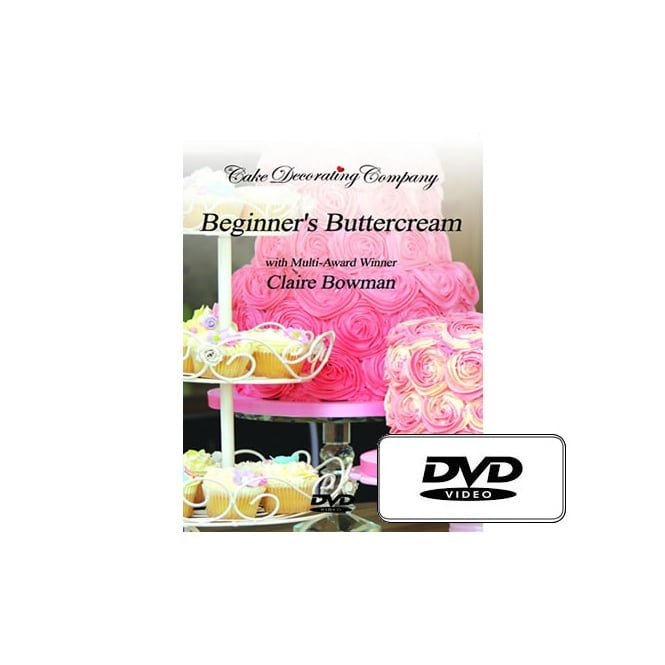 The Cake Decorating Co. Beginners Buttercream DVD With Award Winning Claire Bowman