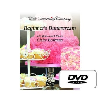 Beginners Buttercream DVD With Award Winning Claire Bowman