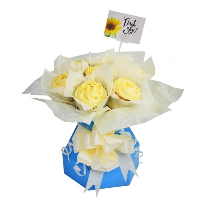 The Cake Decorating Co. Blue Cupcake Bouquet Box Kit