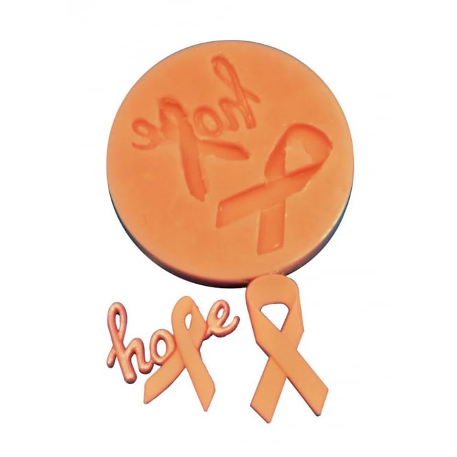 The Cake Decorating Co. Cancer Awareness Ribbon Silicone Mould