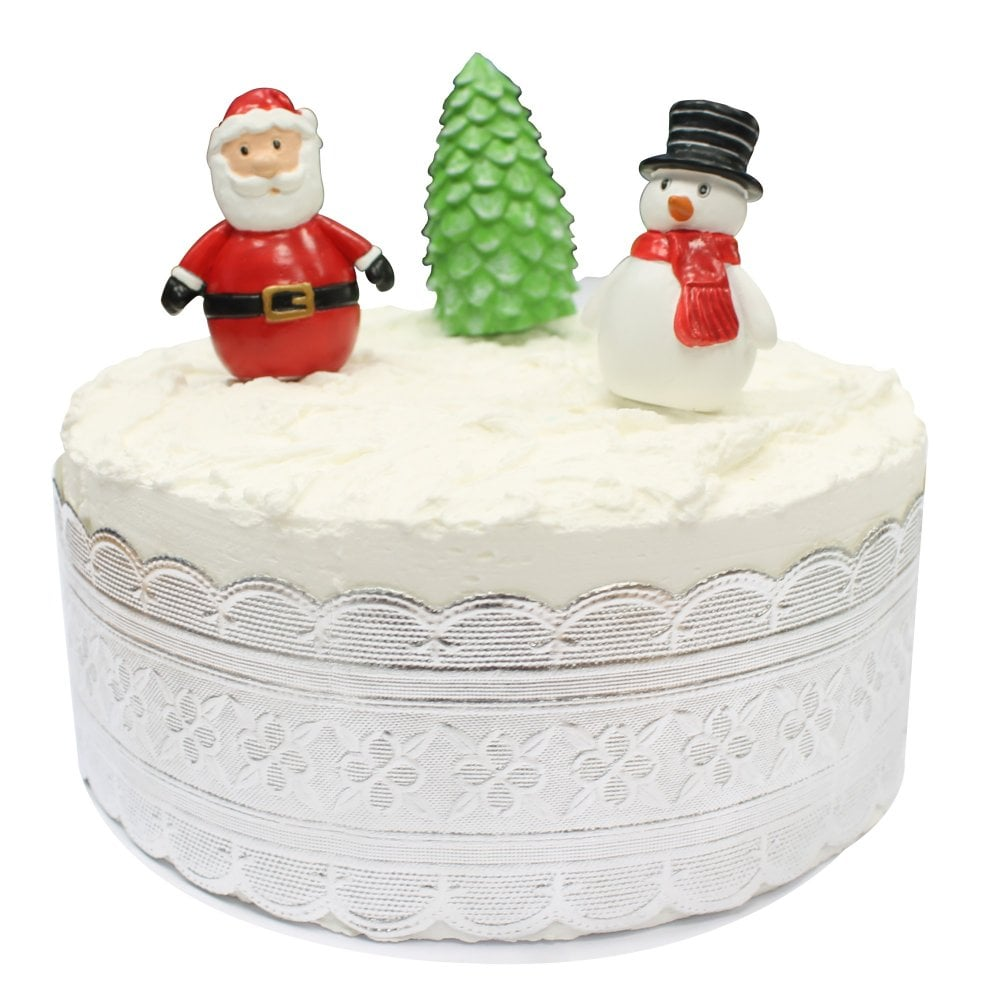 Home Cake Decorating Supply Co: Cartoon Christmas Characters Cake Toppers Set
