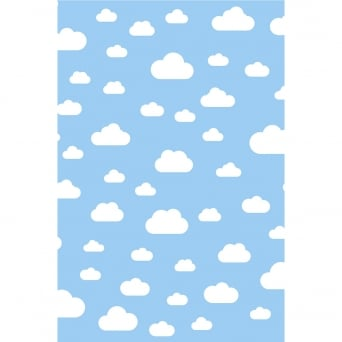 Cartoon Clouds Photography Backdrop
