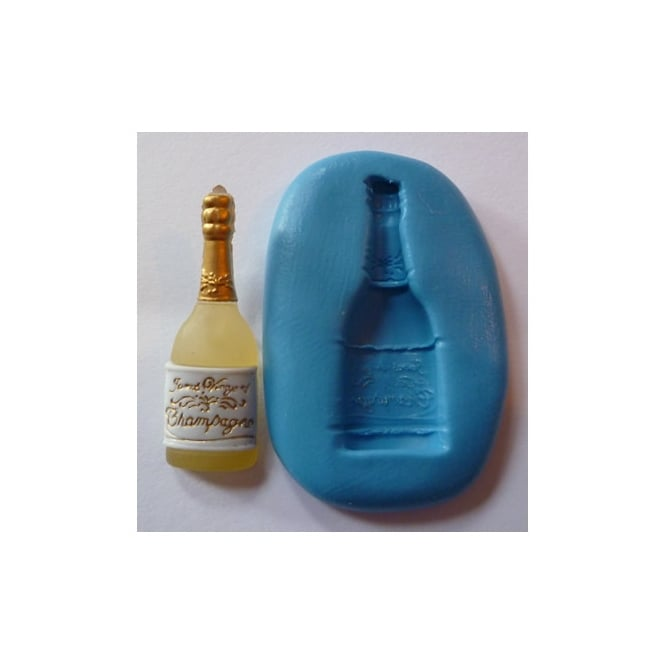 The Cake Decorating Co. Champagne Bottle Silicone Mould
