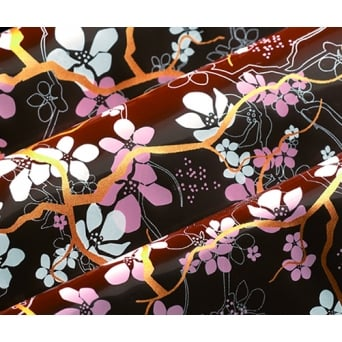 Cherry Blossom Pink Chocolate Transfer Sheet