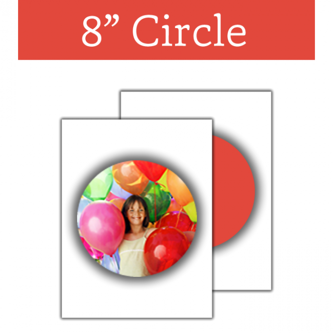 The Cake Decorating Co. Circular Edible Image Sheet 8 Inch Round