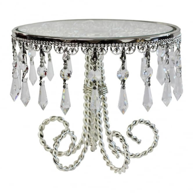 The Cake Decorating Co. Deco Droplets 9 Inch Cake Stand