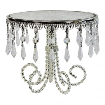 Deco Droplets 9 Inch Cake Stand