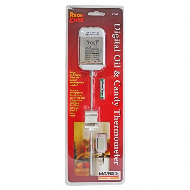 The Cake Decorating Co. Digital Oil And Candy Thermometer